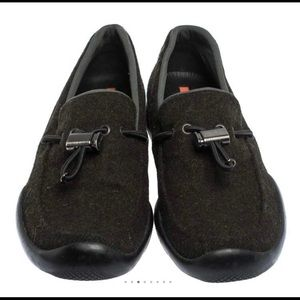 Prada Toggle Loafers